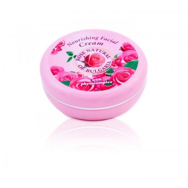 Tápláló arckrém Rose Natural fitokomplexszel